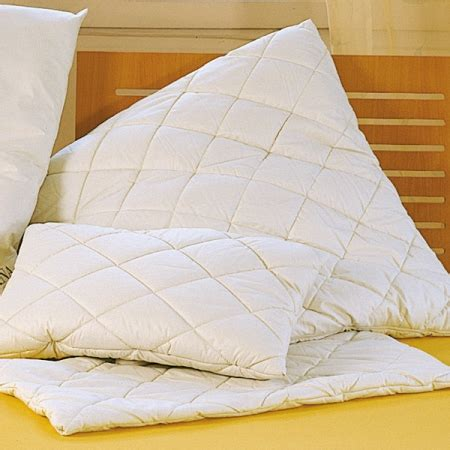 Quilted Pillow Covers by Home Products Organic Cotton Lambswool Camel Quilted Pillow Covers