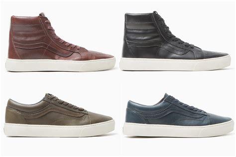 vault sneakers vans vault drops collection of horween leather sneakers