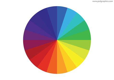 color wheel color wheel vector psdgraphics