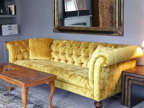 yellow velvet sofa yellow velvet sofa the 25 best velvet furniture ideas on