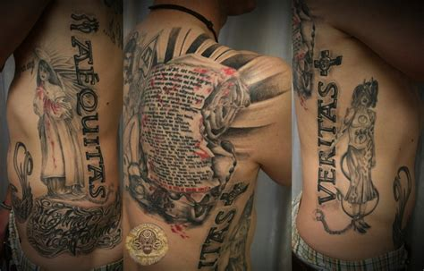 boondock saints tattoo boondock saints prayer done by 2face on deviantart