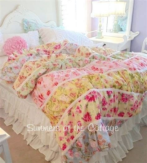 pink and yellow bedding quilt twin quilt and cottages on pinterest