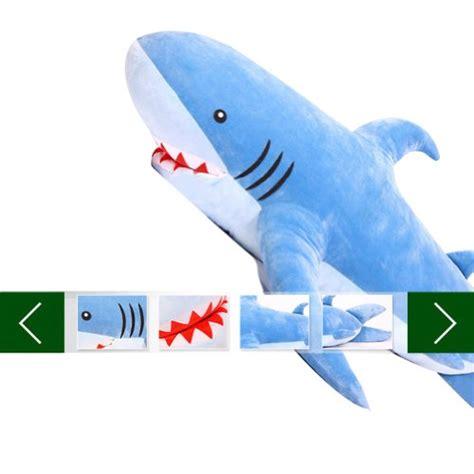 giant shark plush other toys gogo 70 quot unique huge shark stuffed plush toy