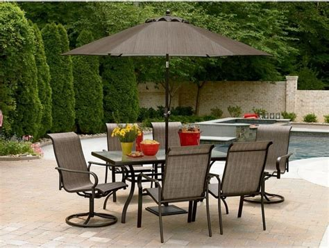 Umbrella For Patio Set Beautiful Patio Dining Set With Umbrella Outdoor Decorations