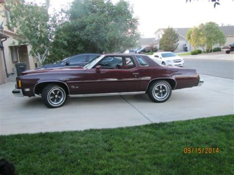 download car manuals 1975 pontiac grand prix transmission control purchase used 1975 pontiac grand prix lj 400 v 8 turbo 400 trans in rio rancho new mexico