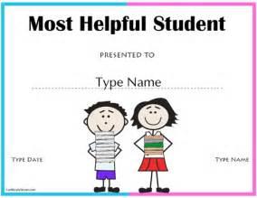 Certification Letter For Honor Student Education Certificates Most Helpful Student Award Certificatestreet Com