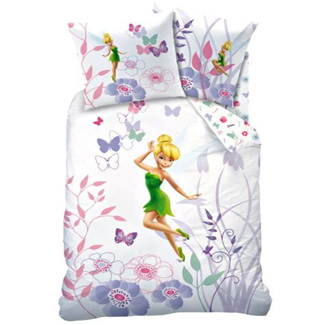 tinkerbell bedding disney tinkerbell fairy reversible bedding 100 cotton