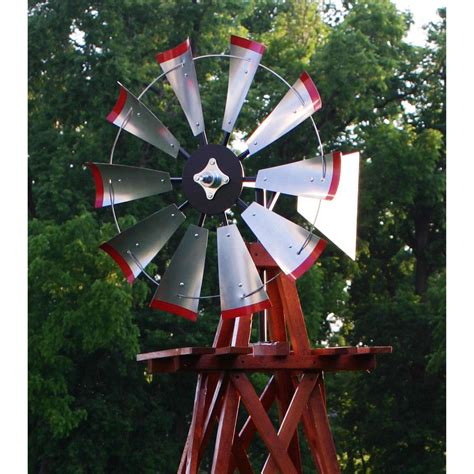 decorative windmills for homes outdoor water solutions 174 10 wood backyard windmill