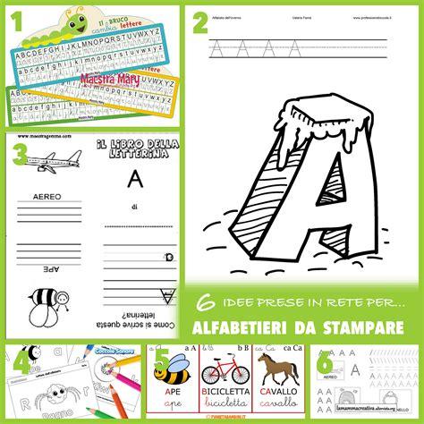 lettere per schede alfabeto