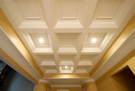 types of ceiling coffered ceiling systems custom manufactured ceilings