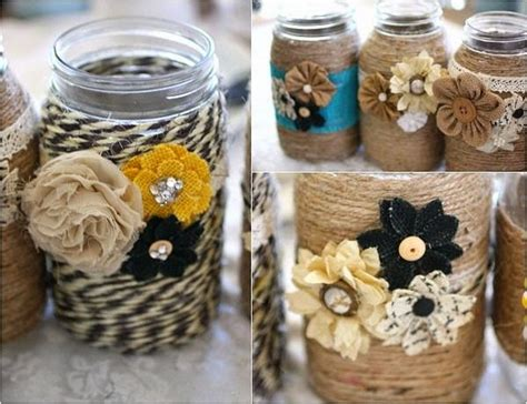 jar craft ideas ways to decorate with jars recycled things