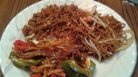 Szechuan Cottage by Take Out Szechuan Beef Lo Mein And Fried Rice Picture Of Ho King Restaurant Cottage Grove