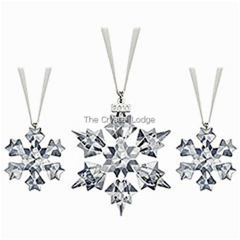 swarovski swarovski 2010 christmas ornament set one
