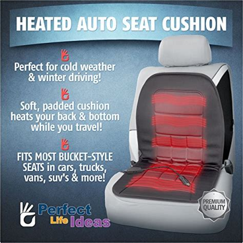 aftermarket car seat warmers ideas heated auto seat cushion 12 volt