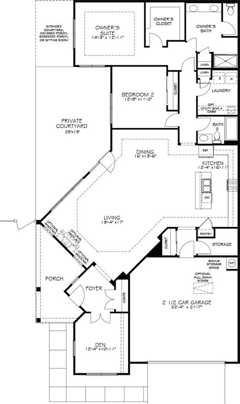 epcon floor plans promenade models the courtyards at auburn hills