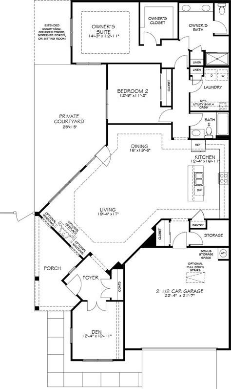 epcon floor plans promenade models the courtyards at auburn hills
