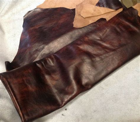 Cowhide Upholstery Leather - t13 leather cow hide cowhide upholstery craft fabric fiona
