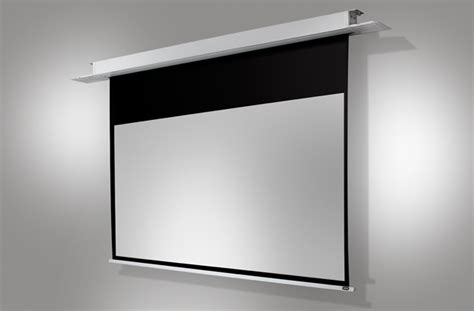 ceiling recessed projector screens