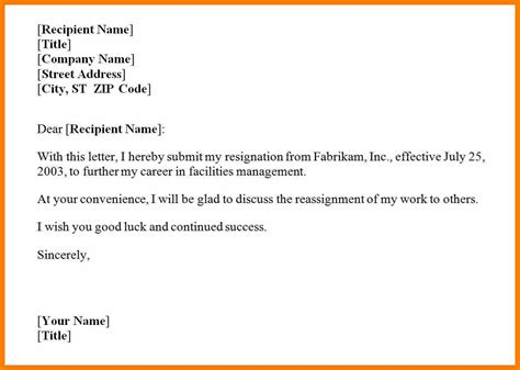 Resignation Letter Email Format by 9 Resignation Email Singapore Science Resume