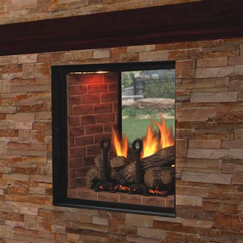 two way electric fireplace design ideas housewarmings