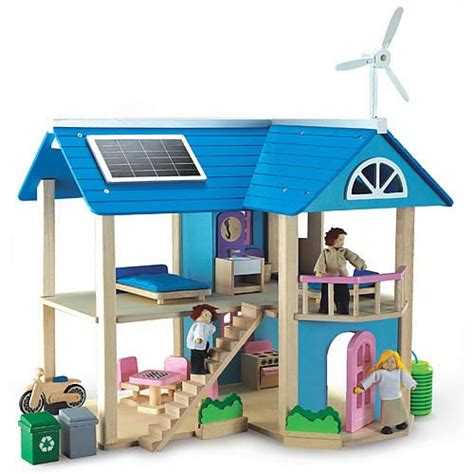 eco doll house eco house dollhouse brainwashes teaches kids about