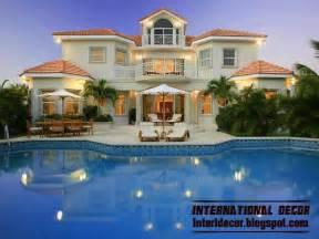Villa Home Interior And Architecture Modern Exterior Villa Designs