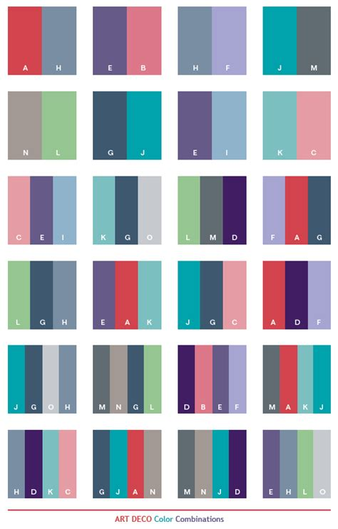deco colors deco color schemes color combinations color palettes