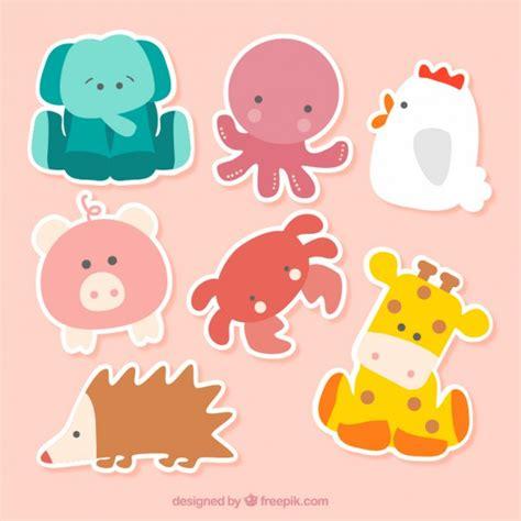 Animal Stickers animal stickers vector free