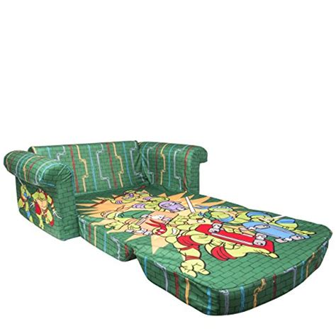 ninja turtle sofa chair marshmallow fun furniture nickelodeon s teenage mutant