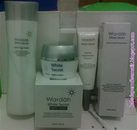Wardah Brightening Essence talks wardah white secret and