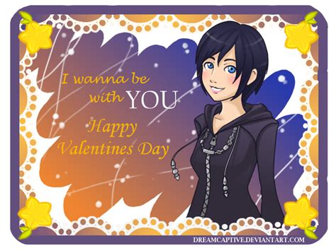 kingdom hearts valentines happy valentines day from xion by dreamcaptive on deviantart