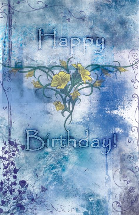 Birthday Cards For Artists Happy Birthday Card Design Painting By Christopher Gaston