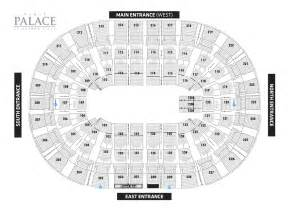 palace of auburn hills floor plan palace sports amp entertainment seating maps