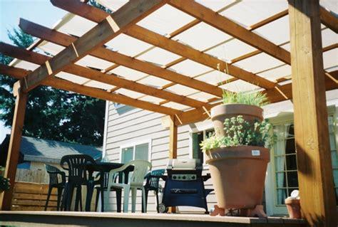 Pergola Dach Material by Pergola Dach Die Herausragendsten Designideen