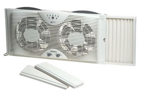 holmes one touch window fan holmes dual blade twin window fan with one touch