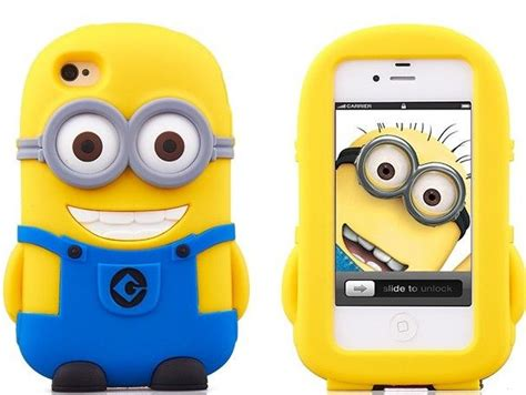 Minion Despicable Me For Iphone 5 5s Tipe B Limited 3d character despicable me 2 minions silicone soft cover for iphone 5 5s iphone 4