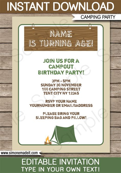 templates for invites cing invitations template birthday