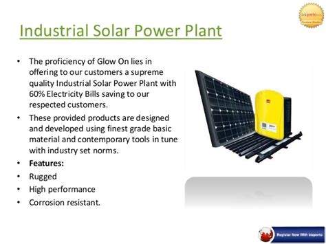 solar power for domestic use in india domestic industrial solar power plant in pune glow on