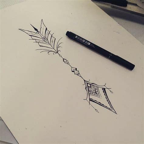 feather tattoo racist tattoo2me arrow shared by tattoo2me on we heart it