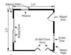 How To Draw A Sliding Door In A Floor Plan by Gallery For Gt Sliding Door Plan Drawing