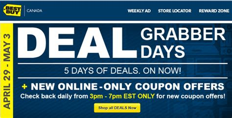 best deals online daily deals and discount coupons best buy deal grabber days 5 days of deals online