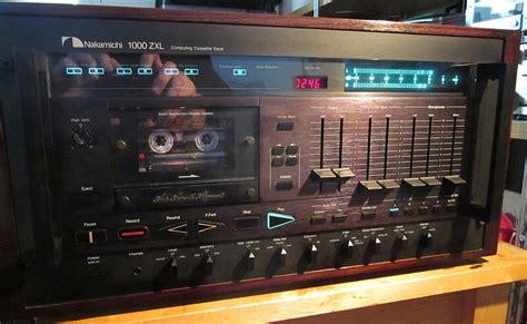 nakamichi 1000 cassette deck nakamichi cassette deck repairs