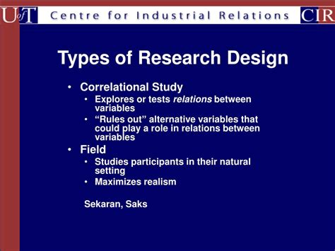 types of pattern allowances ppt ppt research methods design outline powerpoint