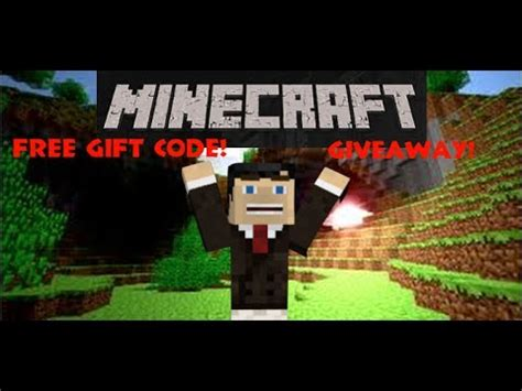 Minecraft Gift Code Giveaway - minecraft gift code giveaway 20 sub special closed youtube