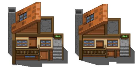 two different styles one house tile by kaliser on deviantart