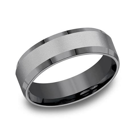 Wedding Bands Ta by Tantalum Comfort Fit Design Ring Cf67416 Wedding Bands