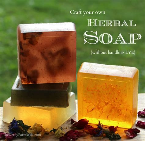 How To Make Handmade Soap - soap without lye sort of the nerdy farm