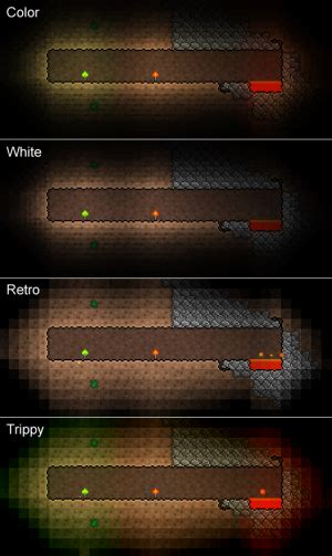 terraria lights lighting mode official terraria wiki