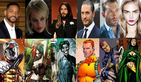 film marvel will smith warner bros officially announces suicide squad cast