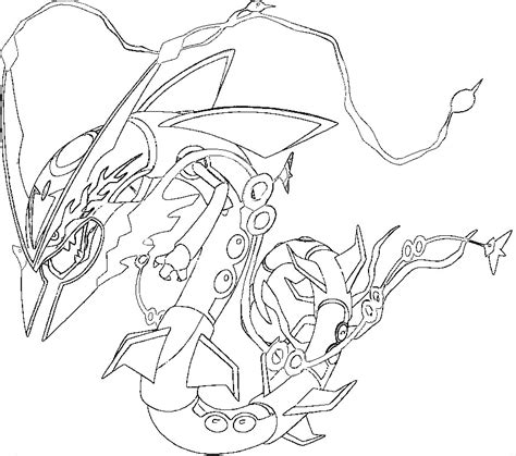mega coloring pages rayquaza coloring pages az coloring pages